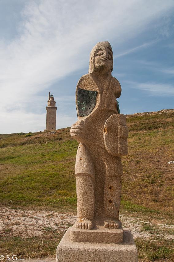 Torre de Hercules en A Coruña