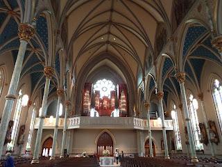 inside St John's in Savannah