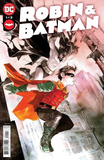 DC Comics anuncia 'Robin & Batman' # 1 por Jeff Lemire y Dustin Nguyen