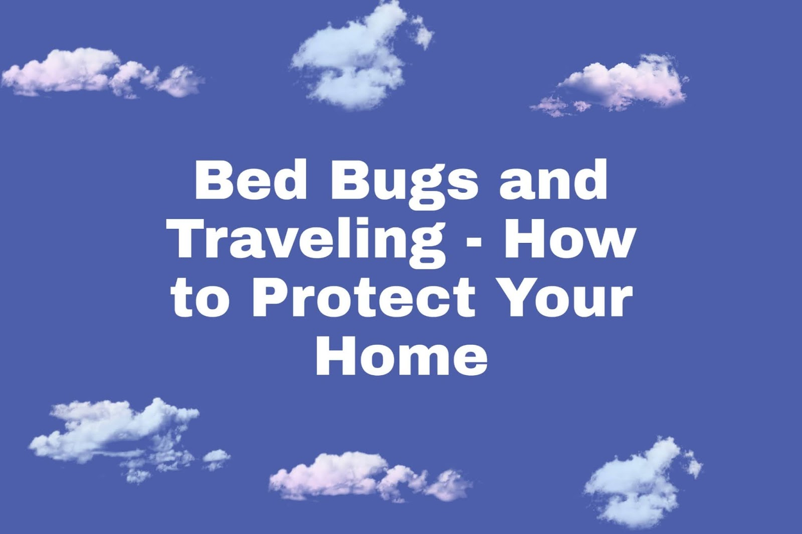 Bed Bugs and Traveling - How to Protect Your Home