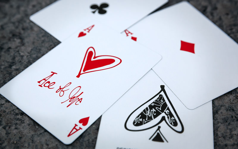 Curtis Kulig Love Me Playing Cards