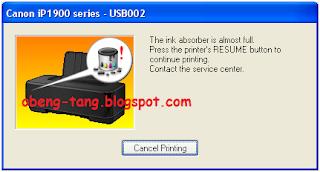 Cara Reset Manual Printer Canon IP1980