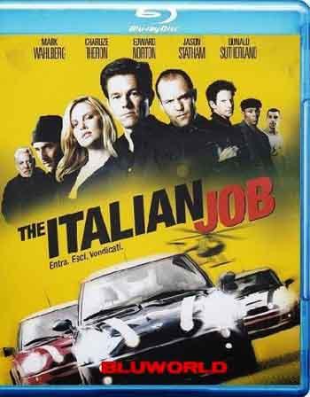The Italian Job 2003 480p 350MB BRRip Dual Audio
