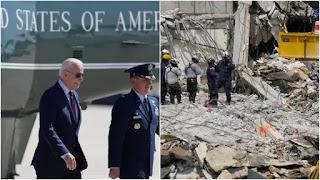 Joe Biden will visit South Florida condo collapse site on July 1