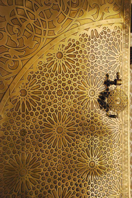 Geometry in Moroccan architecture and riad design