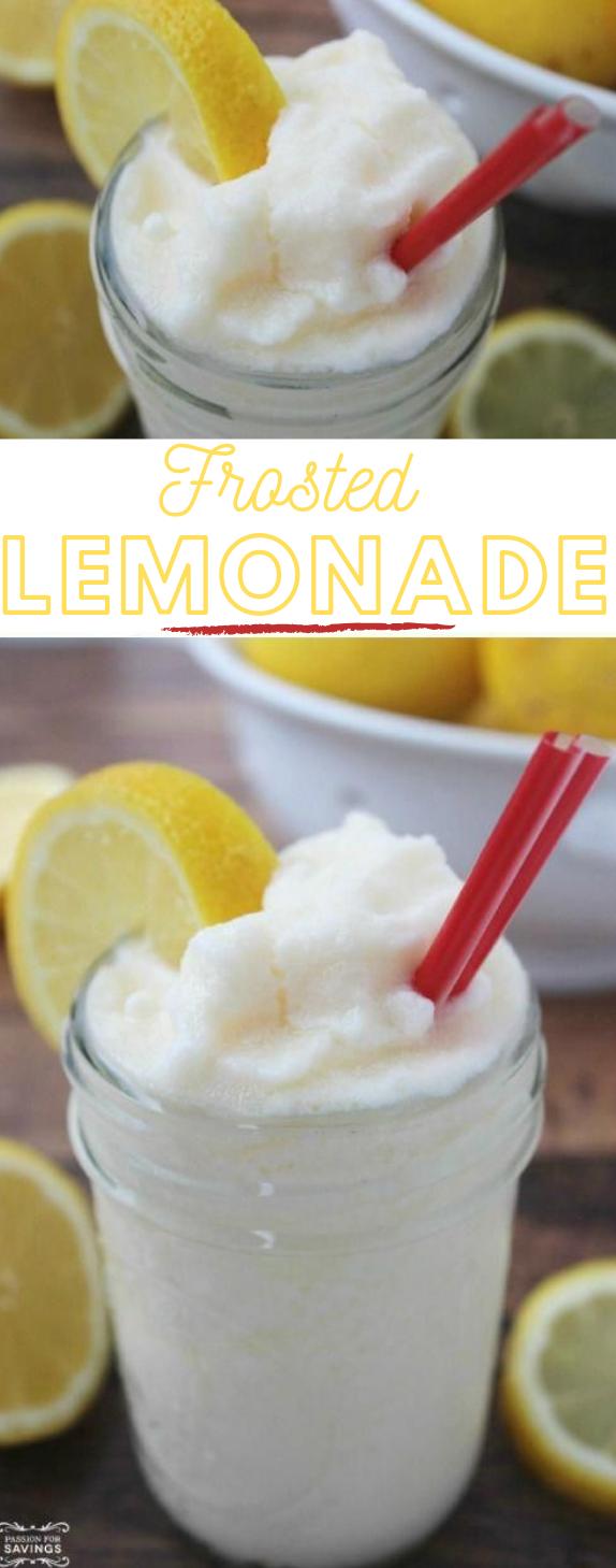 Frosted Lemonade #lemonadae #drink