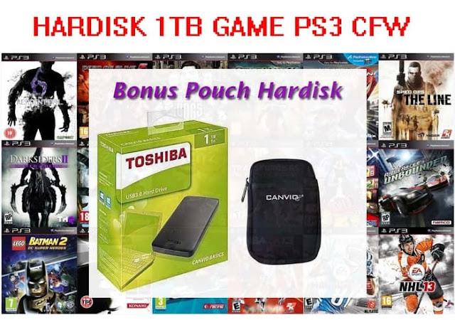 Harga Hardisk Terbaru Untuk Game PS3 Cfw