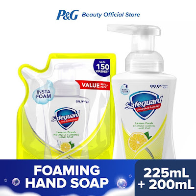 Safeguard Foaming Hand Soap in Lemon Fresh