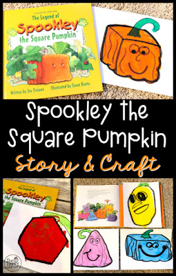 Pumpkin and Halloween story and craft ideas for kids from TheHappyTeacher