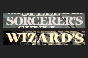 sorcerer vs. wizard