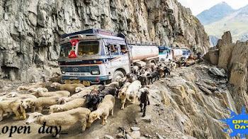 أخطر وأغرب الطرق الجبلية في العالم