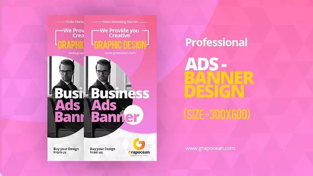 Professional Display Ads Banner Design | Adobe Photoshop Cc