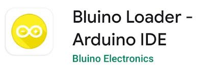 memprogram arduino dengan android bluino loader