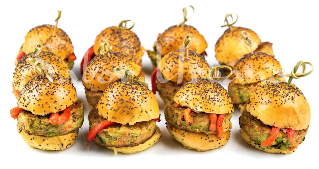 Mini hamburguesitas vegetarianas Sabor Urbano
