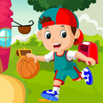Games4King Little Basketball Player Rescue
