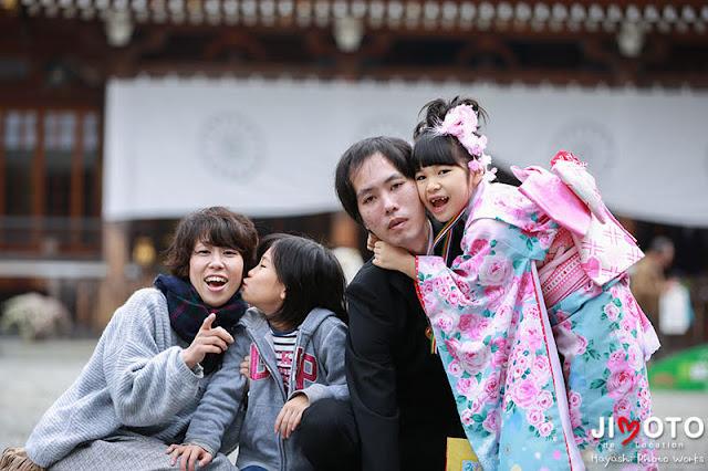 大神神社での七五三出張撮影