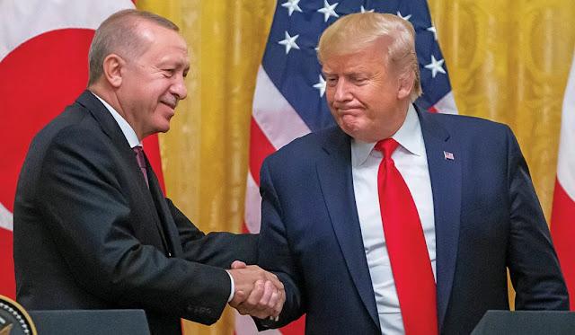 Ανησυχητική η σχέση Τραμπ – Ερντογάν!