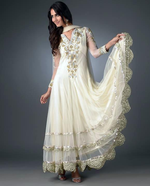White Indian Wedding Dresses: Indian Proposal: Wedding Planning, Tips And Ideas