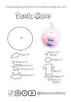 esfera santa claus