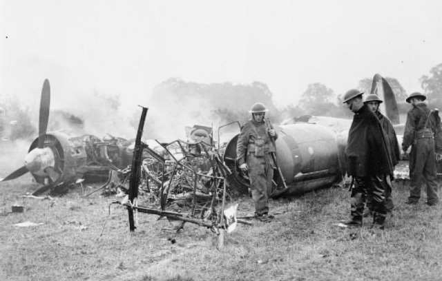 3 October 1940 worldwartwo.filminspector.com Junkers Ju 88 crashed