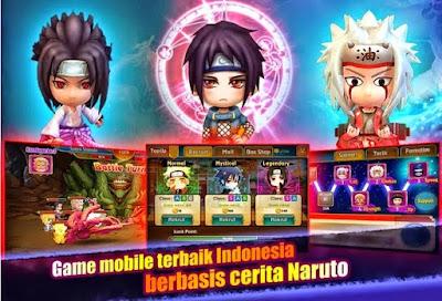 Naruto Ninja World 3D Pro MOD Full Unlocked v2.1.17 Apk Terbaru Updated