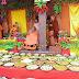 ग्राम बगासपुर में हुआ अनूठा प्रयोग छप्पन लोगों द्वारा बनाये गए छप्पन भोग, लगाया भगवान को भोग