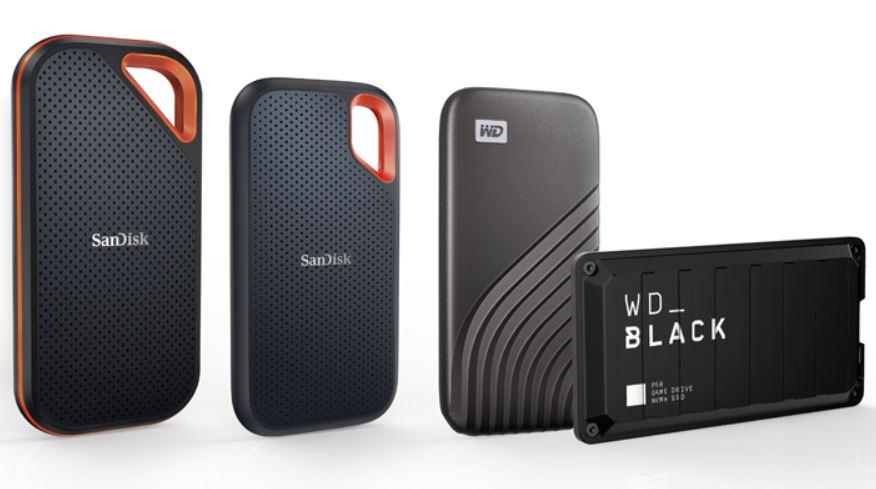 Western Digital Luncurkan Empat SSD Portabel terbaru dengan Kapasitas Hingga 4TB
