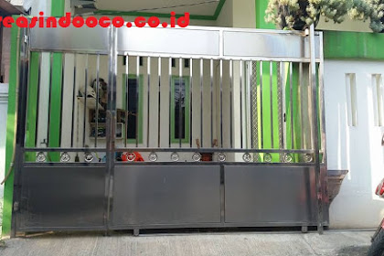 Pintu Pagar Stainless, Balkon Stainless Akrilik Dan Pintu Pagar Kayu Kamper Siap Melayani Seluruh Jakarta