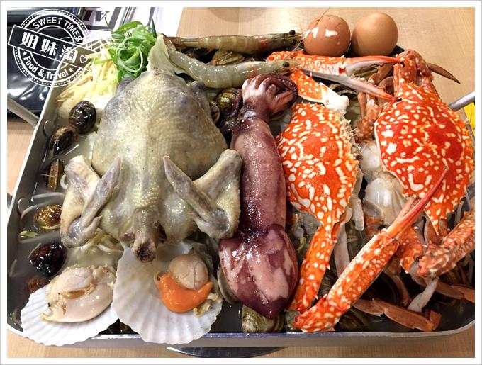 嘉義東區Omaya春川炒雞韓式料理-ㄧ隻雞貝殼蒸