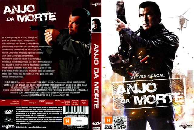 Capa DVD Anjo da Morte
