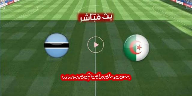 شاهد مباراة Botswana vs Algeria live بمختلف الجودات