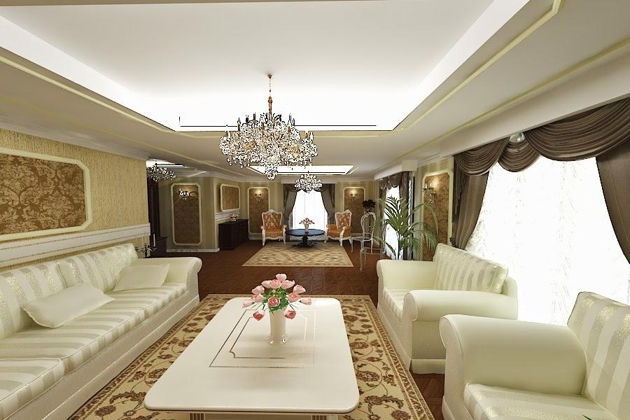 Amenajari - interioare - case - clasice - de - lux