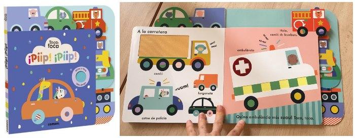 cuentos infantiles 0 a 3 años edad regalar navidad toca toca combel texturas