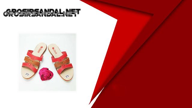 Sandal CS Slop Karet Wanita CPC Sandal Imitasi Termurah