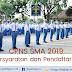 CPNS SMA 2019 : Persyaratan dan Pendaftaran