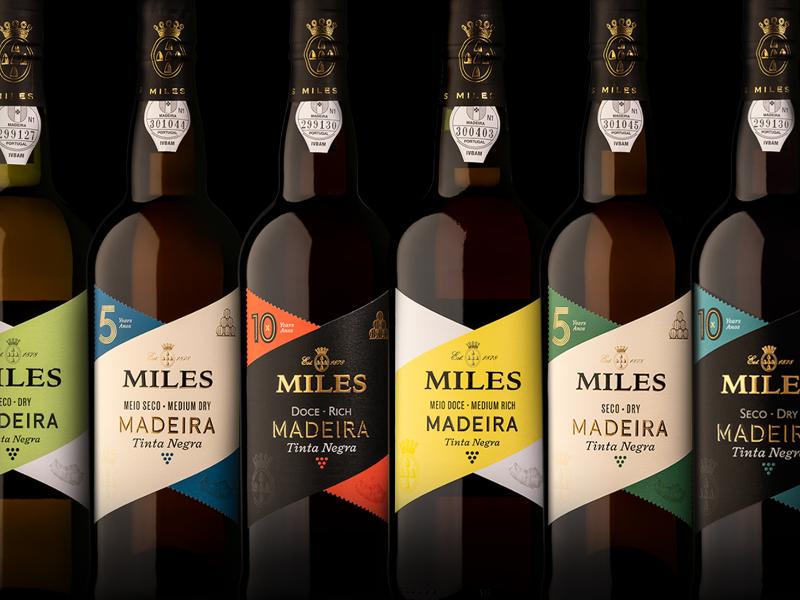 MILES Madeira Wine