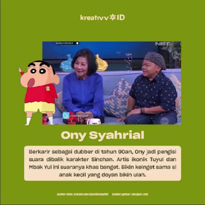 Dubber Legend Indonesia Ony Syahrial