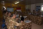 Asops Kasad Kunjungi Kontingen Garuda XXXIX-B di Republik Demokratik Kongo
