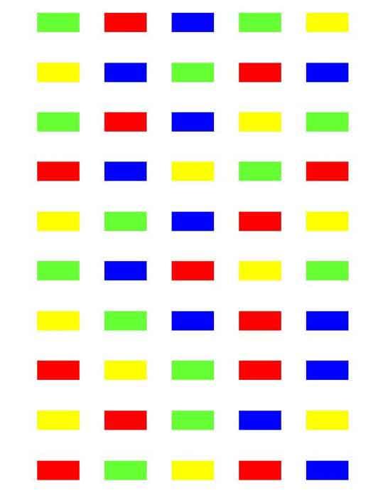 Test De Stroop En Ligne : stroop, ligne, Psychologie:, Stroop, L'expérience