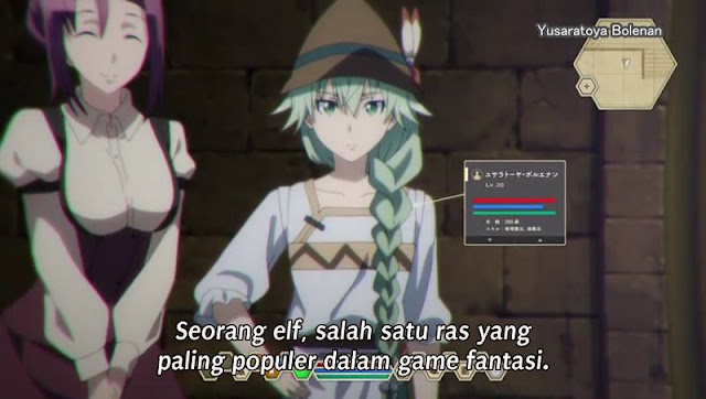 Death March kara Hajimaru Isekai Kyousoukyoku Episode 06 Subtitle Indonesia