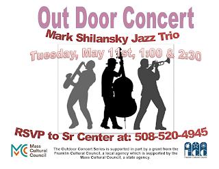 Free Jazz Concert - Franklin Senior Center - May 11