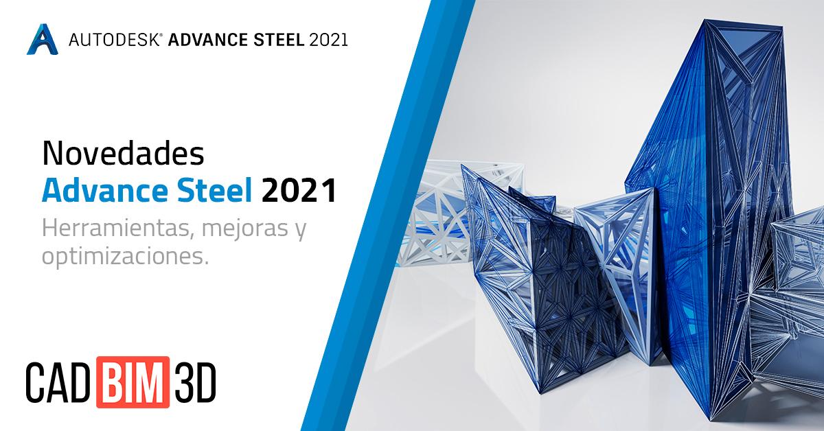 Novedades en Advance Steel 2021