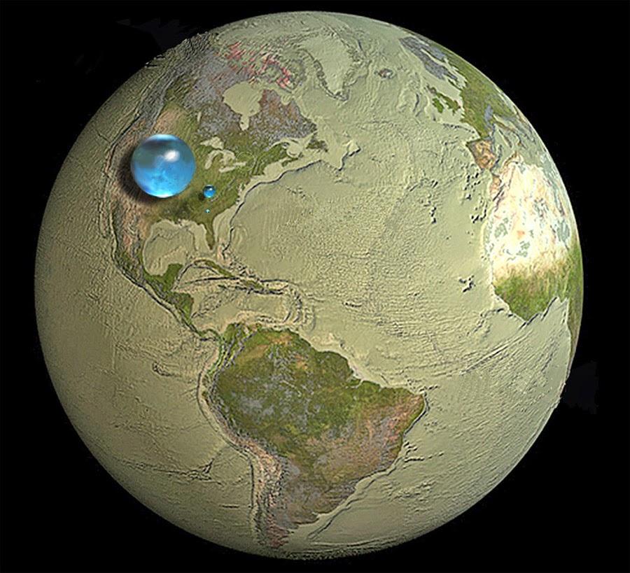 toda a água do mundo