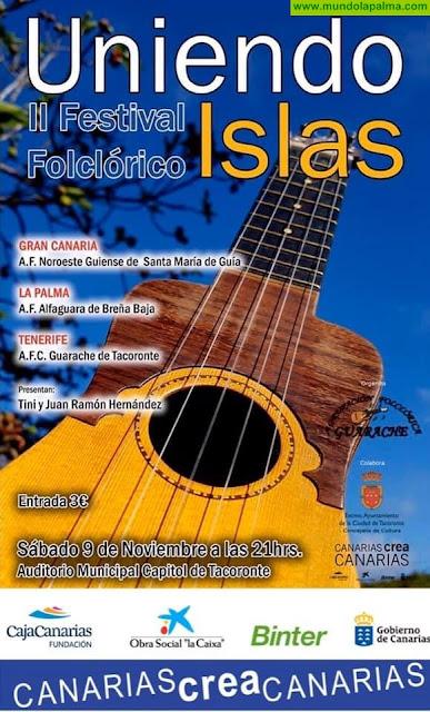 "ALFAGUARA: al II Festival ""Uniendo Islas"" de Tacoronte"