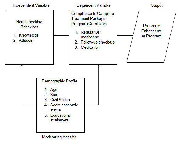 "alt=""Moderating variables in the Conceptual Framework. Input-Process-Output Model"""