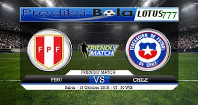 PREDIKSI PERU VS CHILE 13 OKTOBER 2018