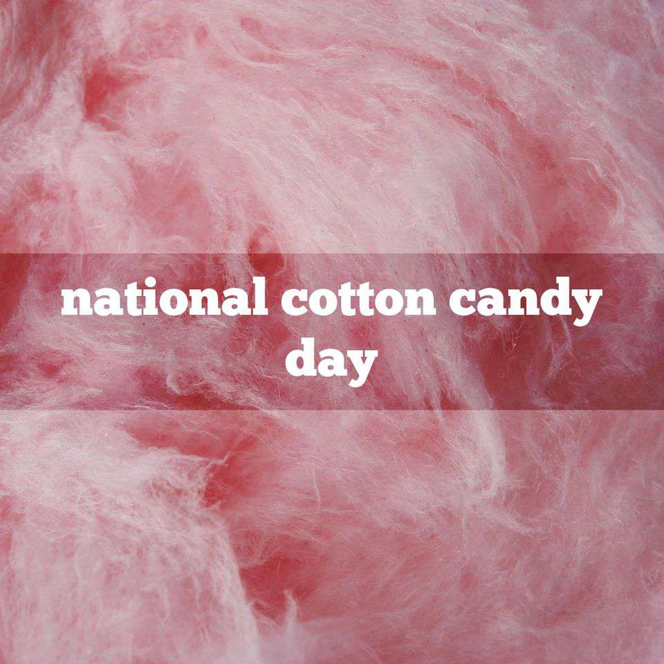 National Cotton Candy Day Wishes Photos