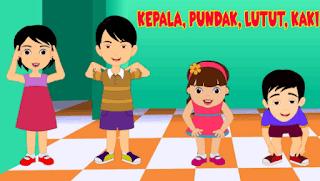 """permainan """"Kepala Pundak Lutut Kaki"""" www.simplenews.me"""