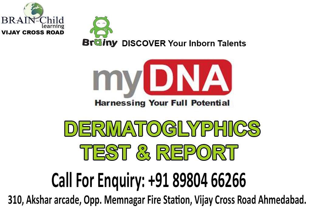 Dermatoglyphics Test Report Posted By Brain Child Learning