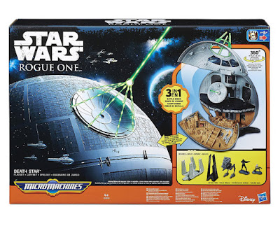 JUGUETES - MICROMACHINES  Star Wars Rogue One - La Estrella de la Muerte  Hasbro B7084 | PELICULA 2016 | Edad: +4 años  Comprar en Amazon España